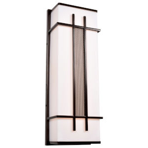 Tuxedo Bronze Nine-Inch LED Wall Sconce