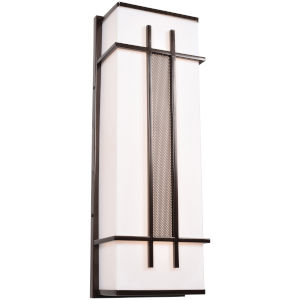 Tuxedo Bronze LED Wall Sconce