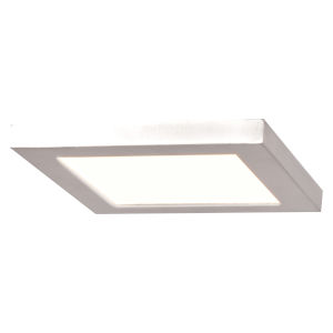 Boxer White Six-Inch LED Flush Mount
