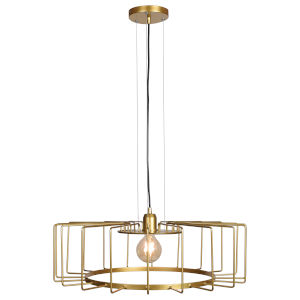 Wired Gold 23-Inch LED Pendant