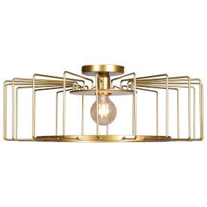 Wired Gold LED Flush Mount