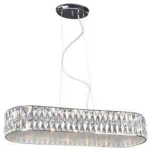 Magari Chrome 10-Inch LED Pendant