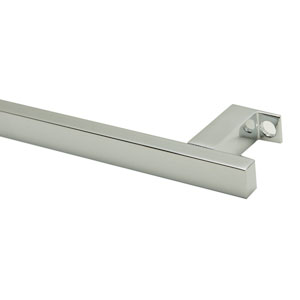 17-inch Chrome Squared Towel Bar addition to the AB108 Bathroom Sink Basin