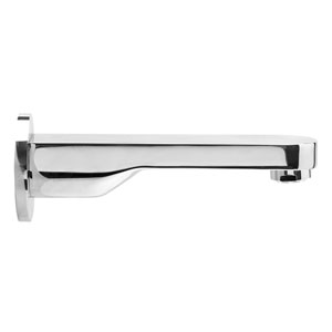 Polished Chrome Wall mounted Tub Filler Bathroom Spout