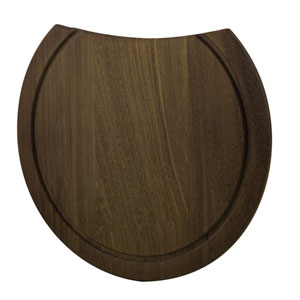 Round Wood Cutting Board