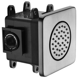 Brushed Nickel Flush Mounted Shower Body Spray