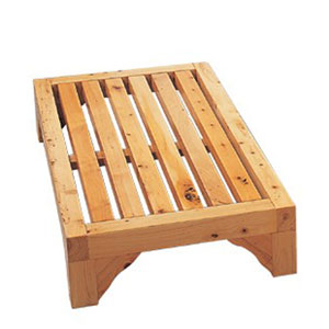 24-inch Modern Wooden Stepping Stool  Multi-Purpose Accessory