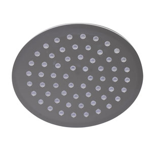 Solid Polished Stainless Steel 8-inch Round Ultra Thin Rain Shower Head