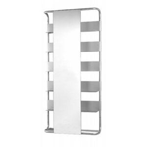 Aeri Aluminum Rectangular Wall Mount w/Six Shelves