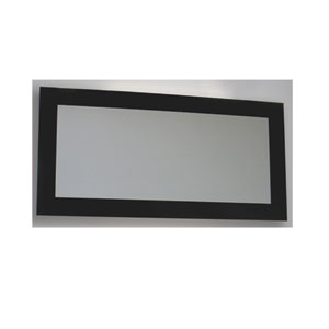 Aeri White Glass Rectangular Shaped Mirror
