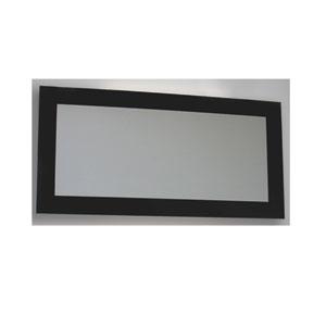 Aeri Black Rectangular Shaped Mirror