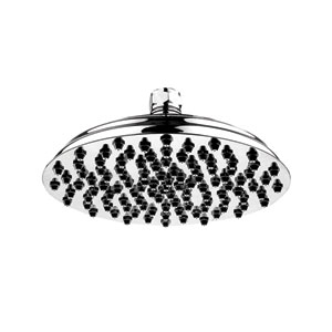 Showerhaus Polished Chrome 12-Inch Large Sunflower Rainfall Showerhead w/108 Spray Nozzles - Solid Brass Construction
