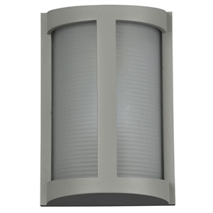 Pier Satin One-Light Outdoor Wall Sconce