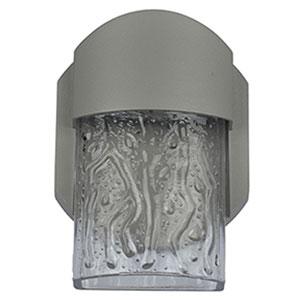 Mist LED Satin 1-Light Outdoor Wall Light