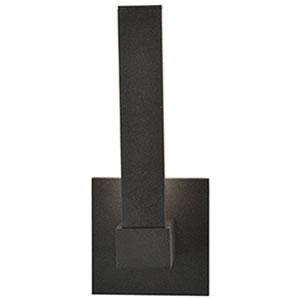Vertical LED Bronze 1-Light Outdoor Wall Light