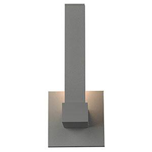 Vertical LED Satin 1-Light Outdoor Wall Light