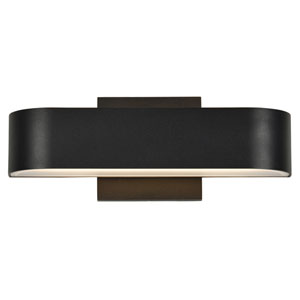 Montreal Black Two-Light LED Outdoor Wall Sconce