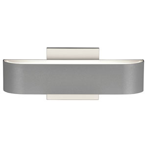 Montreal Satin Two-Light LED Outdoor Wall Sconce