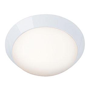 Cobalt LED White 11-Inch Outdoor Flush Mount