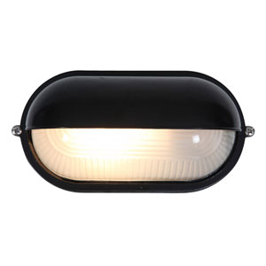 Nauticus Black One-Light LED Outdoor Wall Sconce