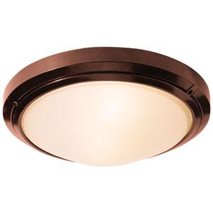 Oceanus Bronze 5.5-Inch High LED Flush Mount