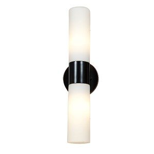 Eos Bronze Two-Light Wall Sconce