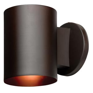 Poseidon Bronze One-Light Outdoor Wall Light