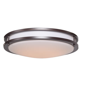 Solero Bronze 18-Inch LED Flush Mount