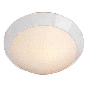 Contemporary White Ceiling Light - Small