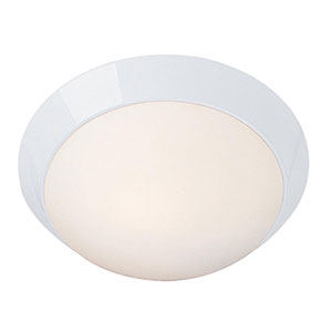 Cobalt White One-Light 13-Inch LED Flush Mount