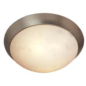 Brushed Steel Ceiling Light-Large.