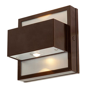 ZyZx Bronze LED Wall Sconce