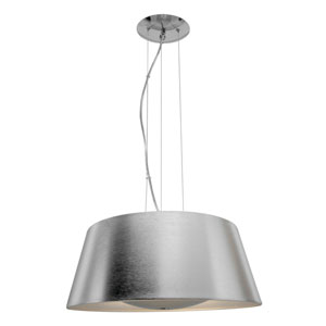 Titan Brushed Stainless Steel One-Light Pendant