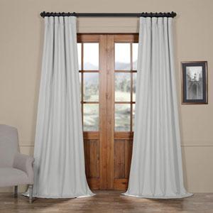 Ivory Birch 96 x 50 In. Faux Linen Blackout Curtain Single Panel