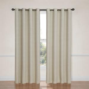 Bobbi Ivory 52-Inch x 63-Inch Blackout Window Curtain Panel