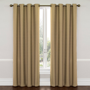 Wyndam Latte 52-Inch x 63-Inch Blackout Window Curtain Panel