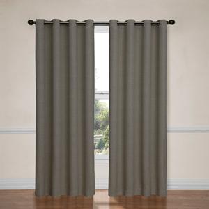 Bobbi Pewter 52-Inch x 63-Inch Blackout Window Curtain Panel