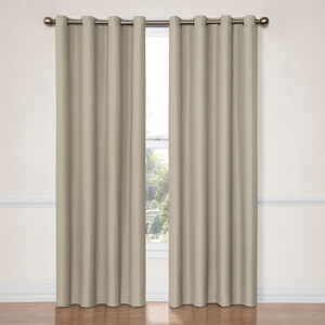 Dane String 52-Inch x 63-Inch Blackout Window Curtain Panel