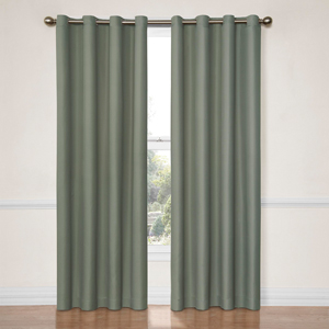 Dane River Blue 52-Inch x 84-Inch Blackout Window Curtain Panel