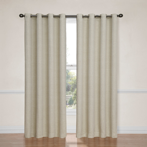 Bobbi Ivory 52-Inch x 95-Inch Blackout Window Curtain Panel