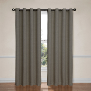 Bobbi Pewter 52-Inch x 95-Inch Blackout Window Curtain Panel
