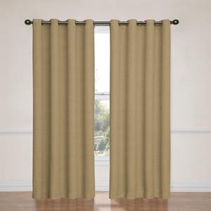 Bobbi Tan 52-Inch x 95-Inch Blackout Window Curtain Panel