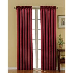 Canova Burgundy 42-Inch x 84-Inch Blackout Window Curtain Panel