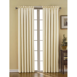 Canova Ivory 42-Inch x 84-Inch Blackout Window Curtain Panel