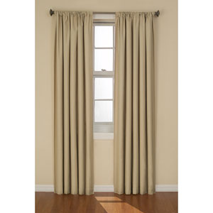 Kendall Café 42-Inch x 84-Inch Blackout Window Curtain Panel
