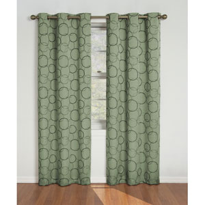 Meridian Sage 42-Inch x 84-Inch Blackout Window Curtain Panel