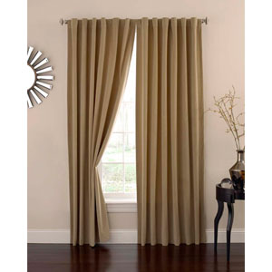 Cafe 84 x 50 In. Velvet Blackout Home Theater Curtain Panel