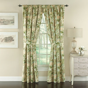Garden Glory Floral 84 x 50-Inch Drapery Pair