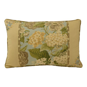 Garden Glory 14 x 20-Inch Square Decorative Pillow