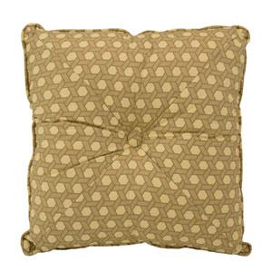 Garden Glory 16 x 16-Inch Square Decorative Pillow